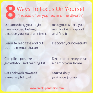 8 ways to focus infographic