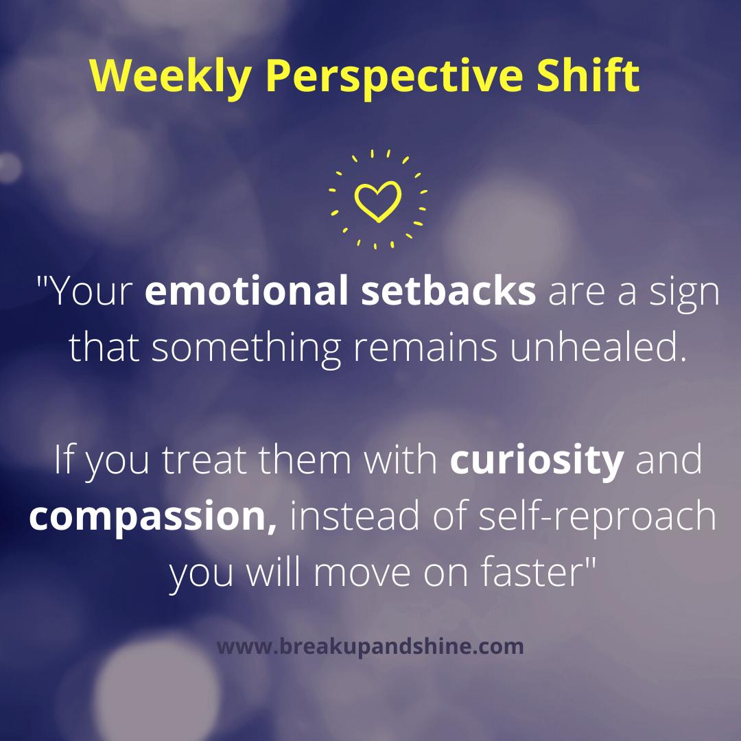 compassion for setbacks